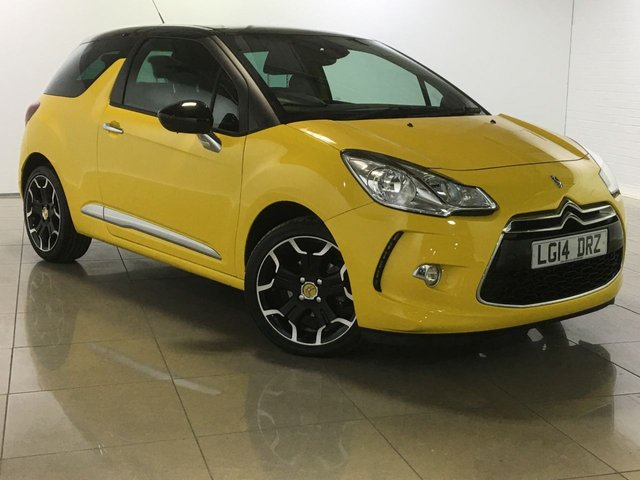View our 2014 14 CITROEN DS3 1.6 DSTYLE PLUS 3d AUTO 120 BHP
