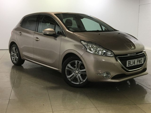 View our 2014 14 PEUGEOT 208 1.4 HDI ALLURE 5d 68 BHP