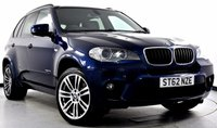 USED 2012 62 BMW X5 3.0 30d M Sport xDrive 5dr (start/stop)  Reverse Cam, Privacy, Media Pk