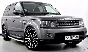 2009 LAND ROVER RANGE ROVER SPORT 3.0 TD V6 HSE 5dr Auto £19995.00