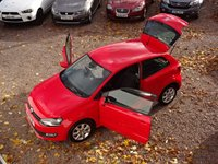 USED 2012 12 VOLKSWAGEN POLO 1.2 MATCH TDI 3d 74 BHP FULL VW SERVICE HISTORY - 8 SERVICES, £20TAX, BLUETOOTH, REAR PARKING SENSORS, AIR CONDITIONING