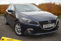 USED 2015 MAZDA 3 2.0 SE-L NAV 5d **NATIONWIDE DELIVERY AVAILABLE**128 POINT AA INSPECTED**
