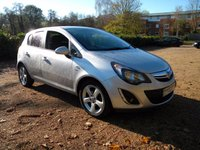 USED 2015 15 VAUXHALL CORSA 1.4 SXI AC 5d 98 BHP Alloy Wheels, Tinted Windows, Aux Input