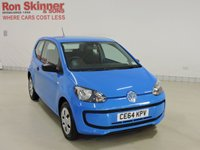USED 2014 64 VOLKSWAGEN UP 1.0 TAKE UP 3d 59 BHP