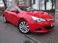 USED 2014 14 VAUXHALL ASTRA 1.4T GTC SRI S/S 3d 138 BHP *** FINANCE & PART EXCHANGE WELCOME *** AIR/CON CRUISE CONTROL  PARKING SENSORS DAB RADIO CD PLAYER AUX & USB SOCKETS