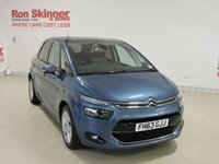 USED 2014 63 CITROEN C4 PICASSO 1.6 E-HDI AIRDREAM EXCLUSIVE PLUS 5d 113 BHP