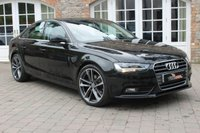 USED 2012 62 AUDI A4 2.0 TDI SE 4d 134 BHP DAYTIME RUNNING LIGHTS