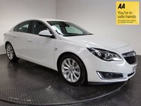 USED 2016 16 VAUXHALL INSIGNIA 1.6 ELITE NAV CDTI ECOFLEX S/S 5d 134 BHP FULL VAUXHALL SERVICE HISTORY - ONE OWNER - LOW MILEAGE - SAT NAV - FULL LEATHER INTERIOR - AIR CON