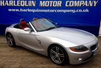 USED 2004 53 BMW Z4 2.5 Z4 SE ROADSTER 2d 190 BHP STUNNING TITAN SILVER 2004 BMW Z4 CONVERTIBLE 2.5  MANUAL HEATED RED LEATHER ELECRTIC CONVERTIBLE ROOF SAT NAV ALLOYS AIR CON MUST BE SEEN