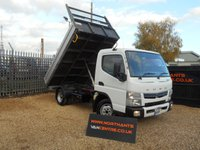 USED 2014 64 MITSUBISHI CANTER 3.0 3C13  TIPPER  2d 130 BHP