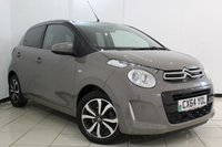 USED 2014 64 CITROEN C1 1.0 FLAIR 5DR 68 BHP FULL SERVICE HISTORY + REVERSE CAMERA + BLUETOOTH + MULTI FUNCTION WHEEL + CRUISE CONTROL + AIR CONDITIONING + ALLOY WHEELS