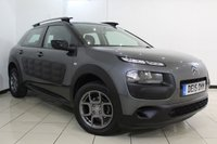 USED 2015 15 CITROEN C4 CACTUS 1.2 PURETECH FEEL 5DR 80 BHP FULL SERVICE HISTORY + BLUETOOTH + CRUISE CONTROL + MULTI FUNCTION WHEEL + AIR CONDITIONING + 16 INCH ALLOY WHEELS