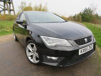 USED 2015 65 SEAT LEON 2.0 TDI FR TECHNOLOGY 5d 150 BHP LOVELY CAR WITH LOADS OF SPEC