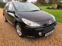 USED 2006 06 PEUGEOT 307 2.0 GT HDI 5d 135 BHP FULL BLACK LEATHER
