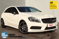 USED 2015 15 MERCEDES-BENZ A CLASS 1.5 A180 CDI AMG NIGHT EDITION 5d AUTO 107 BHP 1 LADY OWNER+FULL MERC HISTORY