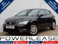 USED 2015 15 SEAT LEON 1.2 TSI SE 5d 110 BHP BLACK FRIDAY WEEKEND EVENT, £30 ROAD TAX BLUETOOTH CRUISE