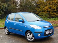 USED 2008 58 HYUNDAI I10 1.2 COMFORT 5d 77 BHP FULL SERVICE HISTORY, 12 MONTHS MOT