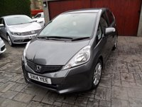 USED 2014 14 HONDA JAZZ 1.3 I-VTEC ES PLUS 5d 99 BHP 1 OWNER. FULL HONDA HISTORY. 6 MONTHS PARTS AND LABOUR WARRANTY.