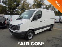 2012 VOLKSWAGEN CRAFTER SWB 2.0 CR30 TDI 109 BHP **AIR CON** £6995.00