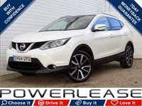 USED 2014 64 NISSAN QASHQAI 1.5 DCI TEKNA 5d 108 BHP BLACK FRIDAY WEEKEND EVENT, FSH FREE TAX PAN ROOF DAB NAV