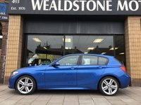USED 2014 64 BMW 1 SERIES 2.0 120D M SPORT [NAV] 5d AUTO 181 BHP SAT NAVIGATION + ELECTRIC FRONT SEATS