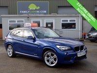 USED 2014 BMW X1 2.0 SDRIVE18D M SPORT 5d AUTO 141 BHP 2.0 Diesel Automatic
