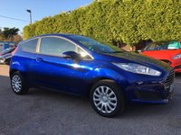 2015 FORD FIESTA 1.2 STYLE 3d  IN DEEP IMPACT BLUE AND LOW MILEAGE  £6500.00