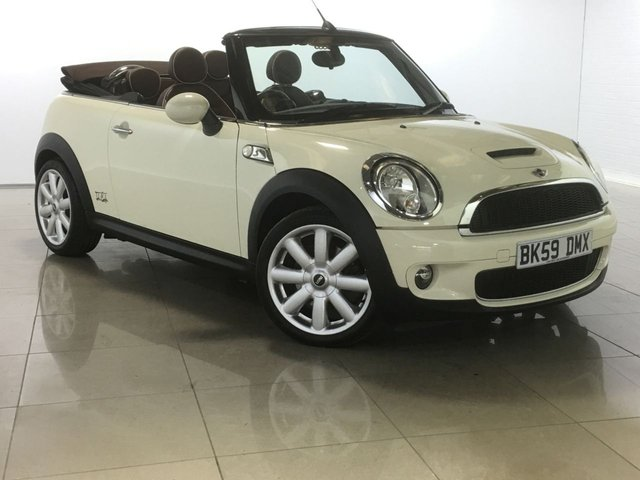 View our 2009 59 MINI CONVERTIBLE 1.6 COOPER S 2d 175 BHP