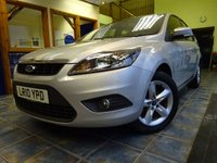 USED 2010 10 FORD FOCUS 1.8 ZETEC 5d 125 BHP