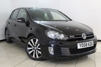 USED 2009 59 VOLKSWAGEN GOLF 2.0 GTD TDI 5DR 170 BHP FULL SERVICE HISTORY + MULTI FUNCTION WHEEL + CLIMATE CONTROL + DAB RADIO + 17 INCH ALLOY WHEELS