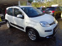 USED 2013 13 FIAT PANDA 0.9 TWINAIR 4x4 5d 85 BHP FOUR WHEEL DRIVE Very Low Mileage, One Lady Owner from new, Fiat Service History + Just Serviced by ourselves, MOT until June 2018, Great on fuel! Only £30 Road Tax!