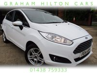 USED 2014 14 FORD FIESTA 1.2 ZETEC 5d 81 BHP ALLOY WHEELS AIR CON SERVICE HISTORY