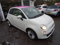 USED 2015 65 FIAT 500 1.2 POP STAR 3d 69 BHP *PINK UNICORN EDITION* *Pink Unicorn Edition Roof* One Lady Owner from new, Just Serviced by ourselves, MOT until October 2018, Great on fuel economy! Only £20 Road Tax!