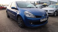USED 2007 57 RENAULT CLIO 1.4 DYNAMIQUE S 16V 3d 98 BHP * GREAT VALUE AT OUR LOW PRICE  *