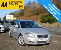 USED 2010 10 VOLVO V50 1.6 D2 SE 5d 113 BHP LOVELY CAR WITH GENUINE LOW MILEAGE AND HEATED SEATS READY FOR THE WINTER AHEAD!!