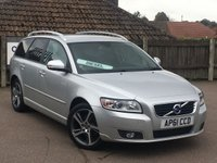 2011 VOLVO V50 1.6 DRIVE SE EDITION S/S 5d 113 BHP £6995.00