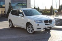 USED 2012 12 BMW X3 2.0 XDRIVE20D SE 5d AUTO XDRIVE 4WD - READY FOR WINTER