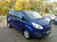 2014 FORD TRANSIT CUSTOM 2.2 310 LIMITED LR DCB 1d 153 BHP £18995.00