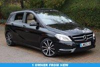 2012 MERCEDES-BENZ B CLASS 1.8 B180 CDI BLUEEFFICIENCY SPORT 5d AUTO 109 BHP £10750.00