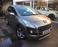 2011 PEUGEOT 3008 2.0 HDI EXCLUSIVE 5d 150 BHP £6395.00