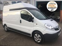2012 VAUXHALL VIVARO LWB HIGH ROOF IDEAL CAMPER VAN WITH AIR CON £6250.00