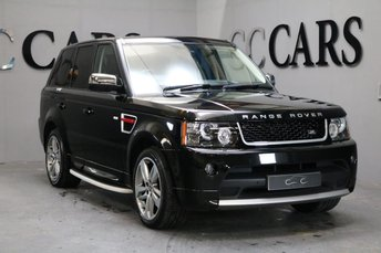 2012 LAND ROVER RANGE ROVER SPORT 3.0 SDV6 HSE RED 5d AUTO 255 BHP £26995.00