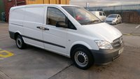 USED 2011 61 MERCEDES-BENZ VITO 2.1 110 CDI 1d 95 BHP  XLWB NO VAT TO ADD 1 OWNER 2 KEYS