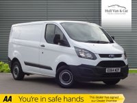 USED 2014 64 FORD TRANSIT CUSTOM 2.2 270 LR P/V 1d 99 BHP ONE OWNER,FULL SERVICE HISTORY
