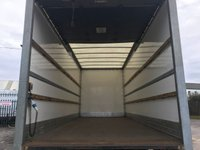 USED 2011 11 MITSUBISHI FUSO CANTER  7c18 Box Van Underslung Lift 4x2 7500kgs Ex Lease Delivery T.B.A