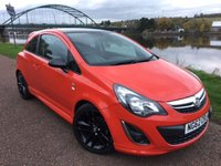 USED 2013 62 VAUXHALL CORSA 1.2 LIMITED EDITION 3d 83 BHP **LIMITED EDITION****RED WITH BLACK ALLOYS**