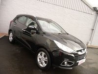 USED 2012 62 HYUNDAI IX35 1.7 PREMIUM CRDI 5d 114 BHP GLASS ROOF + LEATHER
