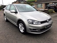 2015 VOLKSWAGEN GOLF 1.6 MATCH TDI BLUEMOTION TECHNOLOGY 5d 109 BHP £11250.00