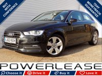 USED 2013 62 AUDI A3 1.4 TFSI SPORT 3d 121 BHP BLACK FRIDAY WEEKEND EVENT, DAB BLUETOOTH STOP/START