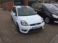 USED 2006 56 FORD FIESTA 2.0 ST 16V 3d 148 BHP BLUE WITH STRIPS VERY GOOD CONDITION. APPROVED CARS ARE PLEASED TO OFFER THIS  FORD FIESTA 2.0 ST 16V 3d 148 BHP BLUE WITH BONNET STRIPS IN VERY GOOD CONDITION WITH A FULL SERVICE HISTORY A GRERAT SPORTS HOT HATCH.